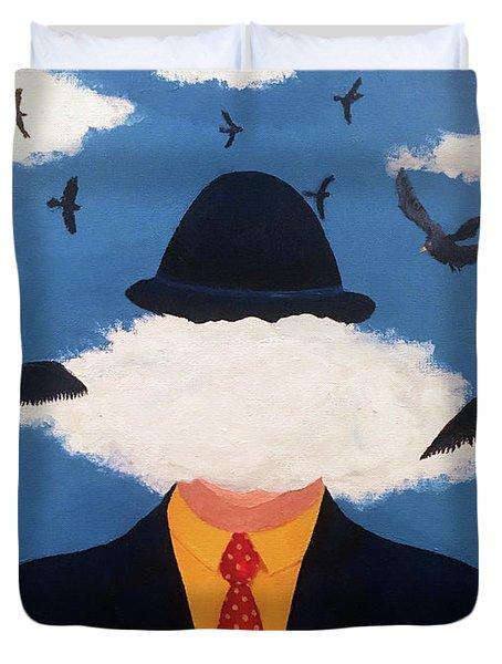 Head In The Cloud Duvet Cover