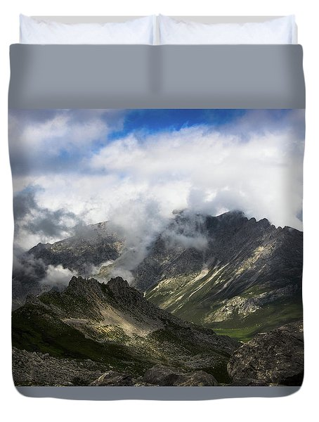 Head In The Clouds Duvet Cover