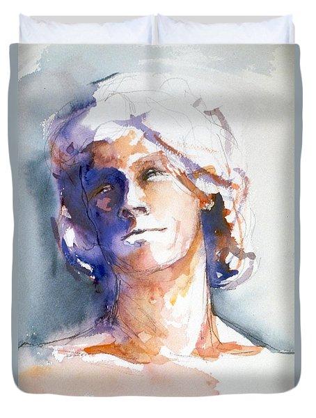 Head Study 1 Duvet Cover