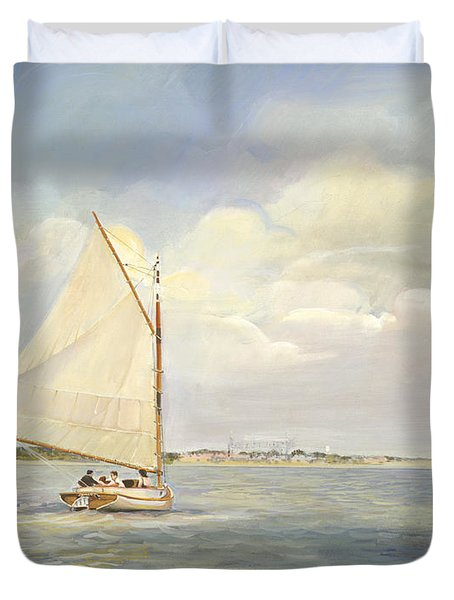 Heading East Duvet Cover