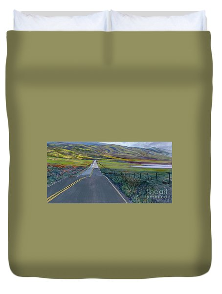 Heading For The Hills Duvet Cover