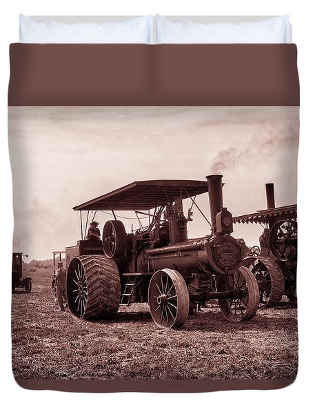 Heading Out Antiqued Duvet Cover
