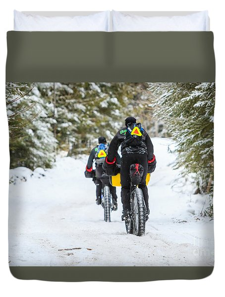 Heading Out Duvet Cover