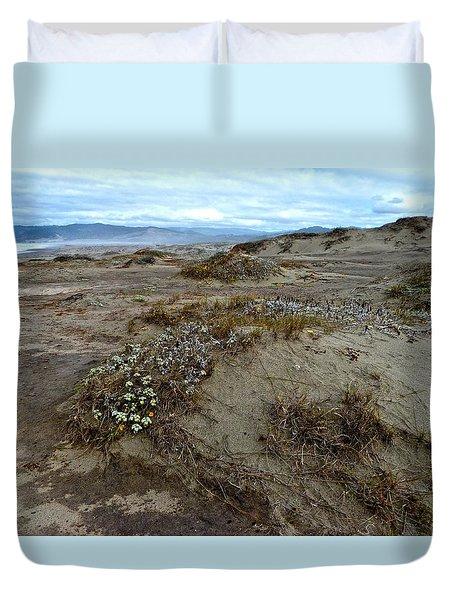 Headlands Mackerricher State Beach Duvet Cover