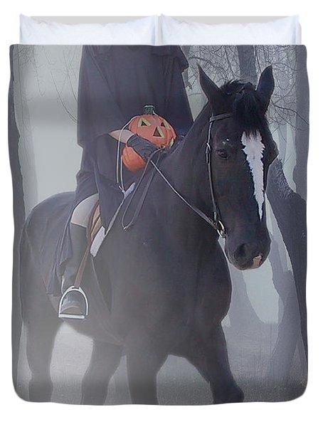 Headless Horseman Duvet Cover