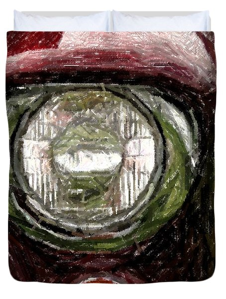 Headlight Duvet Cover