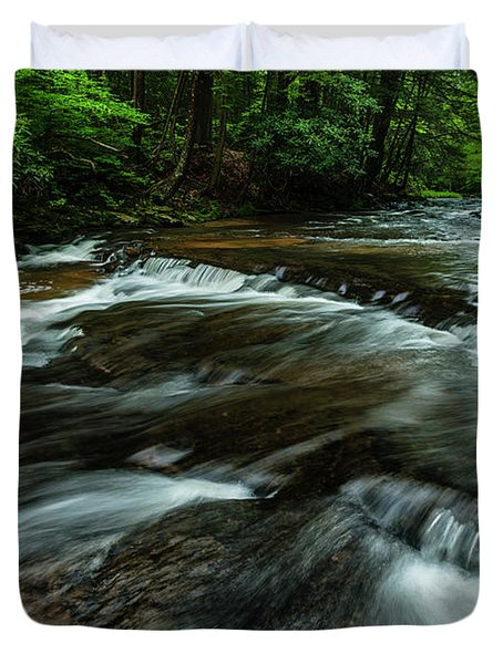 Headwaters Of Williams River  Duvet Cover