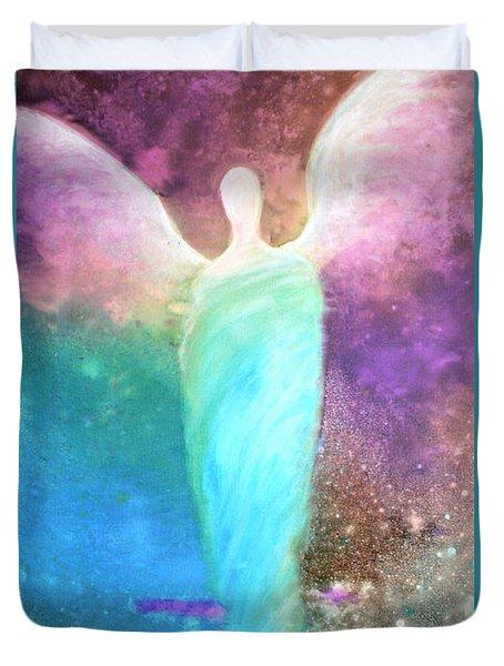 Healing Angels Duvet Cover