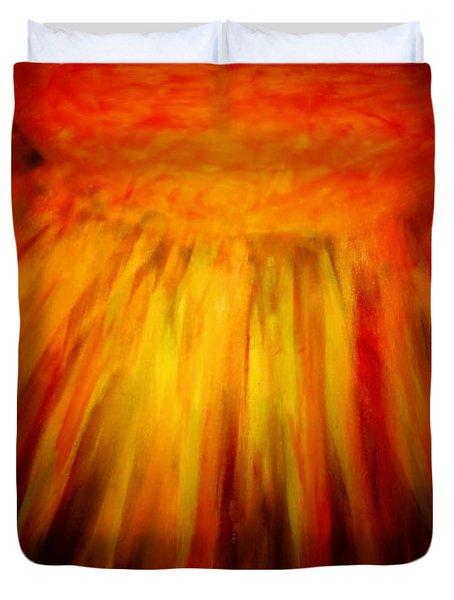 Healing Balm Of The Sun Duvet Cover