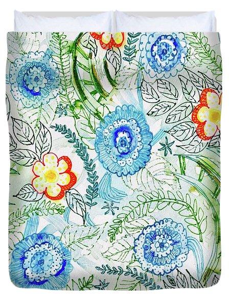Healing Garden Duvet Cover