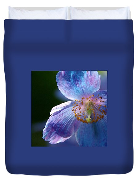 Duvet Cover featuring the photograph Healing Light by Byron Varvarigos