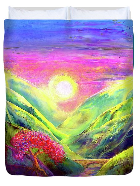 Healing Light Duvet Cover