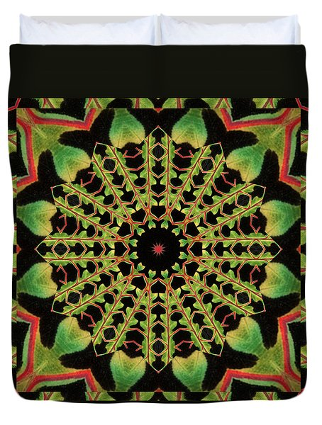 Healing Mandala 13 Duvet Cover by Bell And Todd