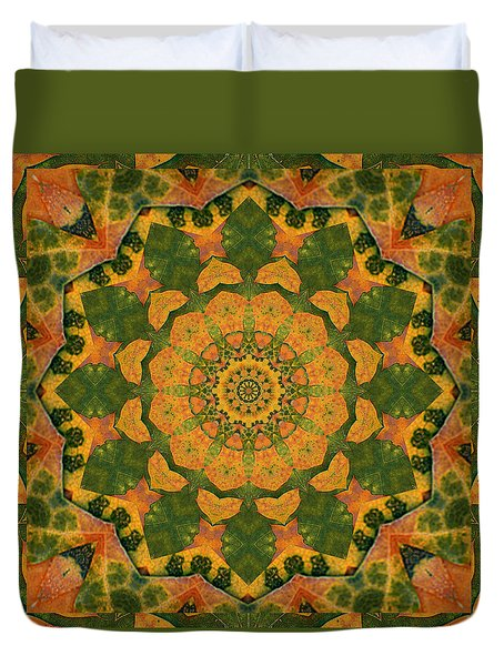 Healing Mandala 9 Duvet Cover by Bell And Todd
