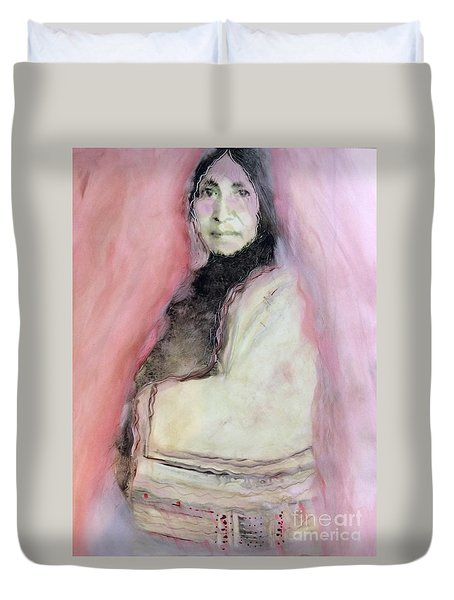 Healing Mother Earth Duvet Cover