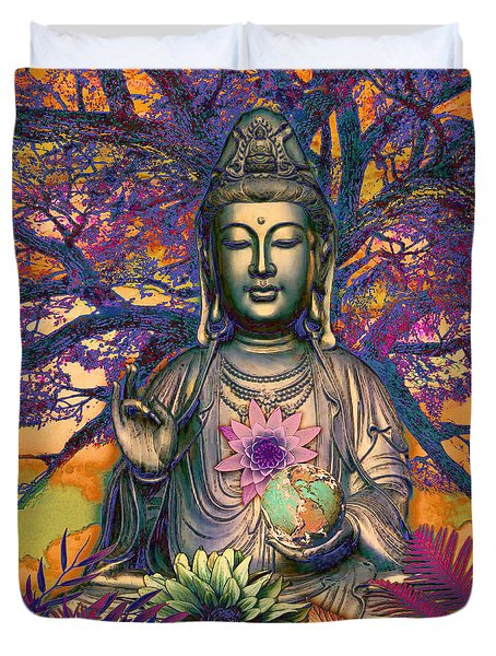 Healing Nature Duvet Cover