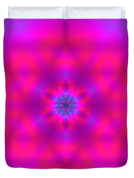 Duvet Cover featuring the digital art Healing Number Xxx by Robert Thalmeier