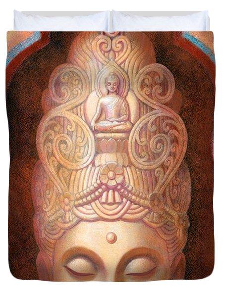 Healing Tara Duvet Cover