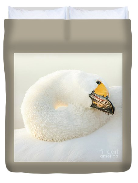 Duvet Cover featuring the photograph Healing by Tatsuya Atarashi