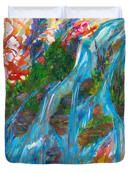 Healing Waters Duvet Cover