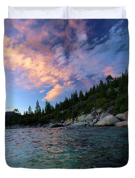 Healing Waters Duvet Cover