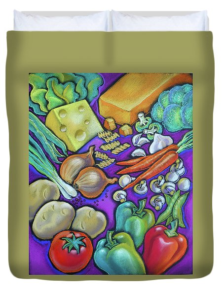 Health Food For You Duvet Cover