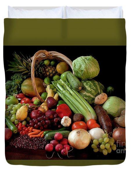 Healthy Basket Duvet Cover