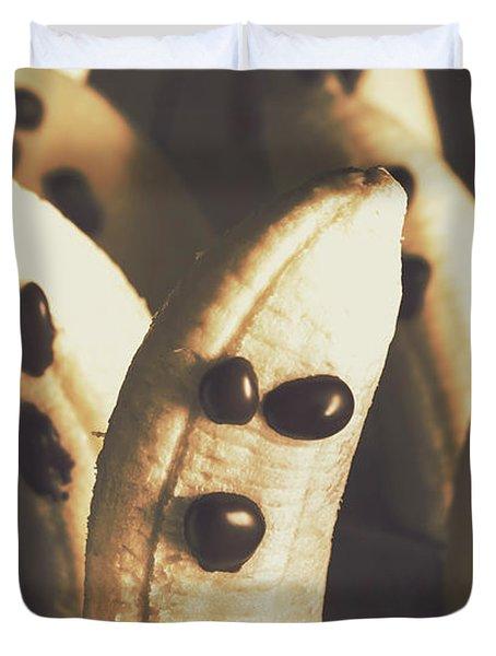 Healthy Rustic Trick-or-treat Halloween Snacks Duvet Cover