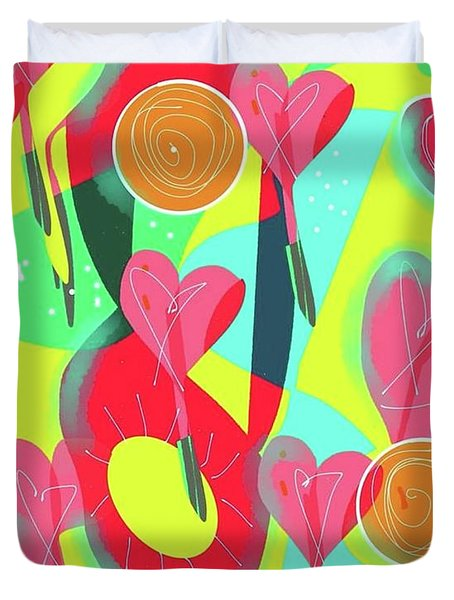 Heart Attack Duvet Cover