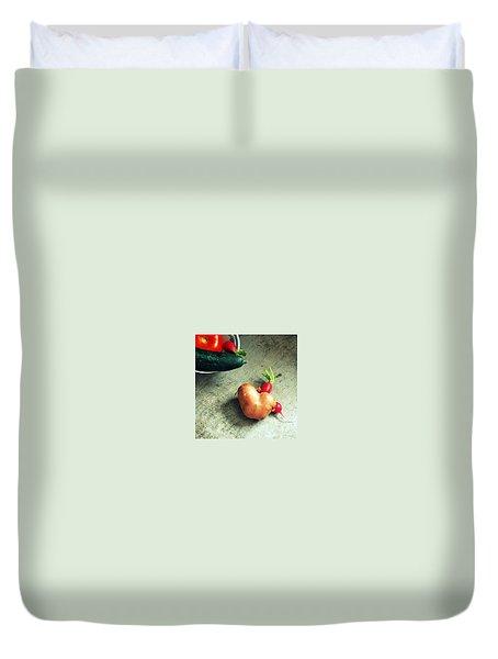 Heart For Lunch Duvet Cover