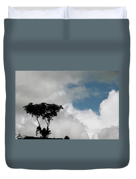 Heart In The Clouds Duvet Cover