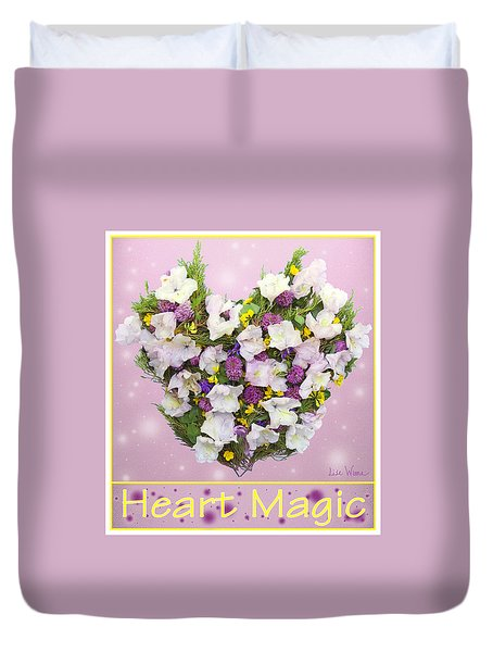 Heart Magic Duvet Cover by Lise Winne