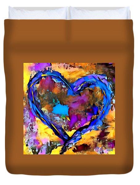 Heart No 7 Duvet Cover
