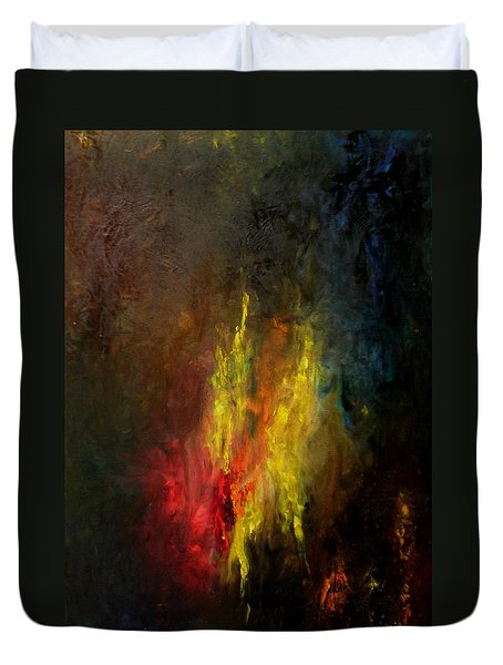 Heart Of Art Duvet Cover