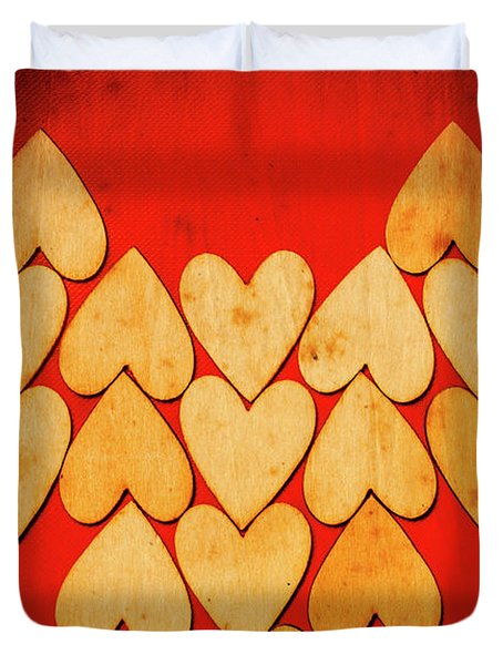 Heart Of Hearts Duvet Cover