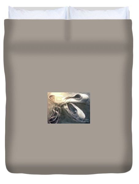 Heart Of The Dance Duvet Cover