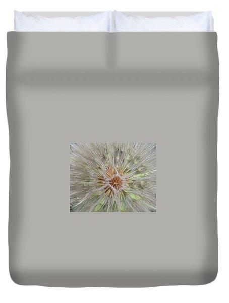 Heart Of The Dandelion Duvet Cover