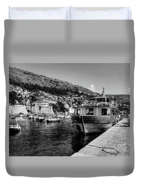Heart Of The Harbour Duvet Cover