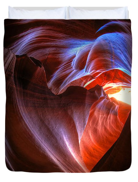Heart Of The Navajo Duvet Cover