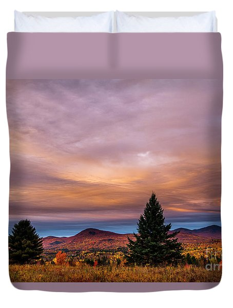 Heart Opeing In The Sky Duvet Cover
