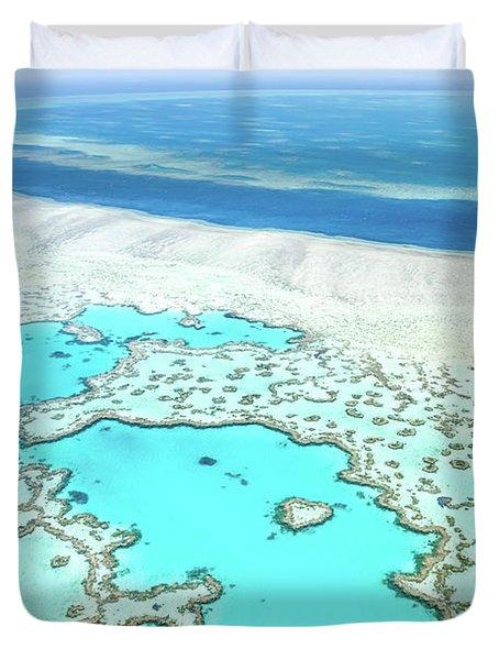 Heart Reef Duvet Cover
