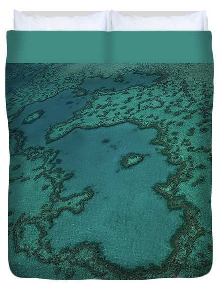 Heart Reef Duvet Cover