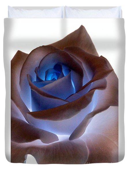 Heartglow Rose Duvet Cover