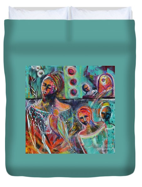 Hearth Of Connection Duvet Cover