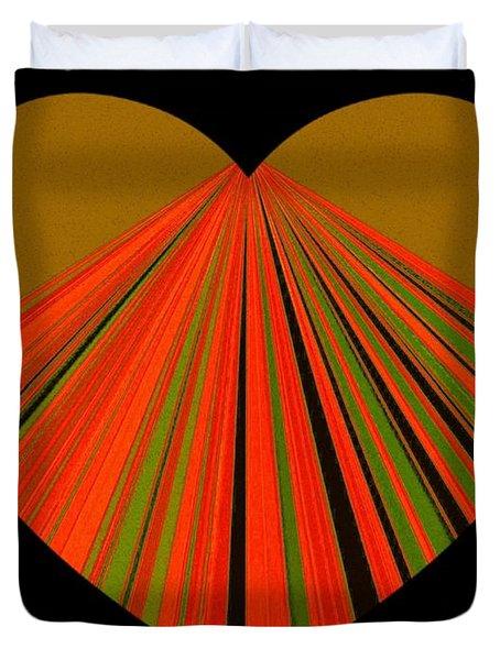 Heartline 5 Duvet Cover
