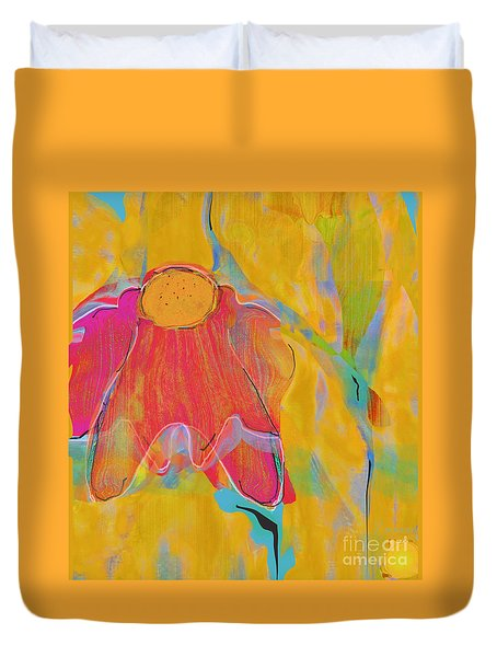 hearts 'n flowers -Wild and Free Duvet Cover