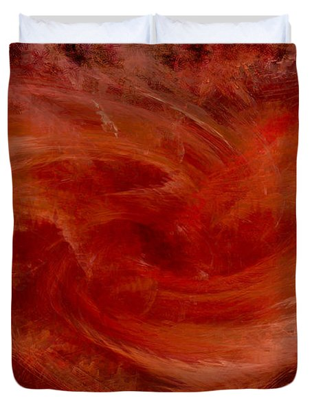Hearts Of Fire Duvet Cover