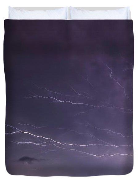 Heat Lightning Duvet Cover