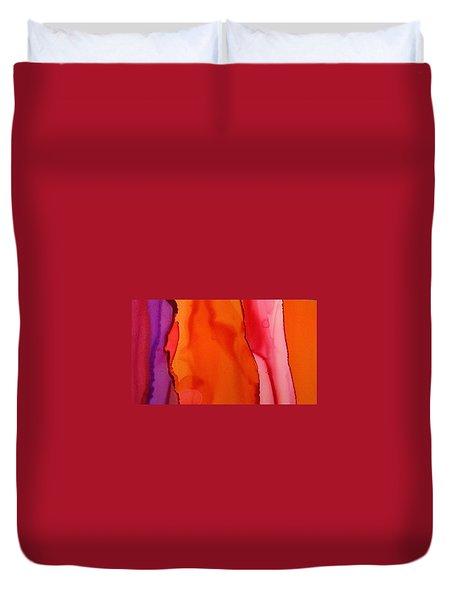 Heat Waves Duvet Cover