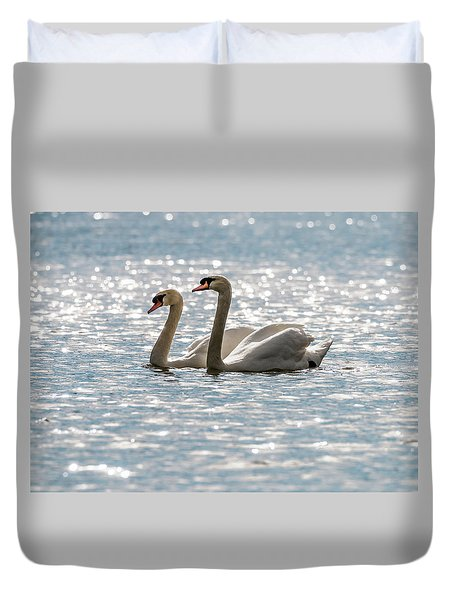 Heather And Keith Duvet Cover